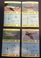 ST. LUCIA - 1985 Sc 762/769, Yv 751/758 Mnh** - St.Lucie (1979-...)