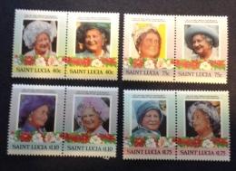 ST. LUCIA - 1985 Sc 782/785, Mi 783/790, Yv 771/778 Mnh** - St.Lucie (1979-...)