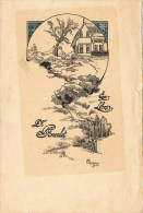 EX LIBRIS  Flore Heneau  1920  Dr Poncelet - Ex-libris