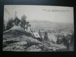 Cerf-volant - Pause Militaire Ou Manoeuvres - Lancement De La Roche Du Diable, Xetté (Xettes : Gérardmer) - 1905 - Militaria