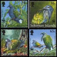 (WWF-149) W.W.F. Solomon Islands MNH Nicobar Pigeon Stamps 1993 - W.W.F.