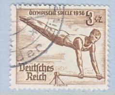 GERMANY   B 82  OLYMPICS 1936  HORIZONTAL BAR  (o) - Germany