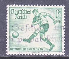 GERMANY   B 84  OLYMPICS 1936  SOCCER  (o) - Germany