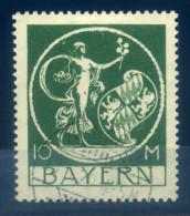 GERMANY BAVARIA - 1920 DEFINTIVES 10M GREEN - Bavière