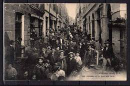 Algérie - Oran - La Rue Des Juifs - Trés Animée - RARE ! - Oran
