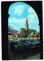 M2181 Bolzano Bozen - Piazza Walther Platz - Auto Cars Voitures / Viaggiata 1966 - Bolzano (Bozen)