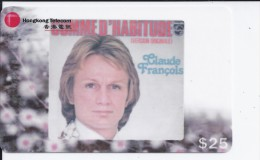 Claude François - HongKong Télécom - 810340 - Musique
