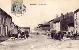 CPA - 54 - CHAMBLEY - Grande Rue - Chambley Bussieres