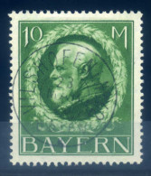GERMANY BAVARIA - 1914 DEFINITIVES 10M GREEN - Beieren