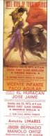 Affiche De Corrida Torremolinos, 18/7/72 Vicente Infante, Paco Aguilar, El  Huracan, Jose Jaime (format 11 X 31 Cm) - Affiches