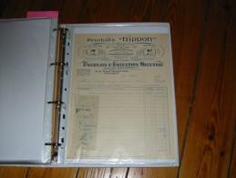 Facture Produits  NIPPON  143 145 Av General Petain NIORT - Profumeria & Drogheria