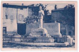 8 - CEYRESTE - Monument Aux Morts Pour La Patrie - Ed. Barthélémy - Altri Comuni