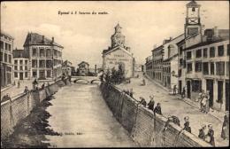 Künstler Ak Épinal Vosges, à 5 Heures Du Matin - France