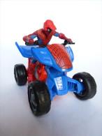 Figurine  SPIDERMAN EN QUAD - HASBRO 2009 - Spiderman
