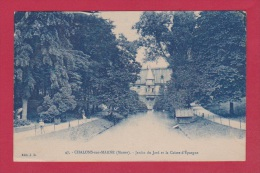 CHALONS SUR MARNE  //  Jardin Du Jard Et De La Caisse D épargne - Châlons-sur-Marne