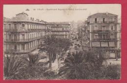 ORAN  //  Boulevard Séguin Et L Hotel Continental - Oran