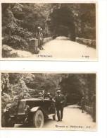 2 PHOTOS ANIMÉES  IDENTIFIÉES.  LE VERCORS. GRANDS GOULETS . AOUT 1927. - Luoghi