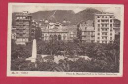 ORAN  // Place Du Maréchal Foch Et La Colline Santa Cruz - Oran
