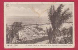 ORAN  //  La Grande Jetée Et Le Débarcadère De La Compagnie De Navigation Mixte - Oran