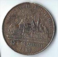 Médaille Commémorative/ Inauguration De L'Hotel De Ville/ Paris/ 1882      D434 - France