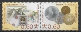 Vatican (2007) Yv. 1436/37  /  Pope Benedict XVI - Ratzinger - Papst Benedikt - Pausen