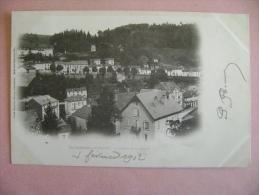 CP PLOMBIERES LES BAINS  LE COTEAU DE LA VIERGE - ECRITE EN 1902 - Plombieres Les Bains