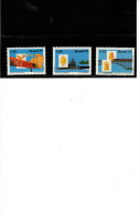 BRASILE - Yvert  1293/95** - Aereonautica - Unused Stamps