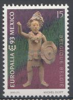 BELGIQUE Mi.nr.:2560 Europäisches Kulturfestival, Brüssel 1993 Neuf Sans Charniere / Mnh / Postfris - België