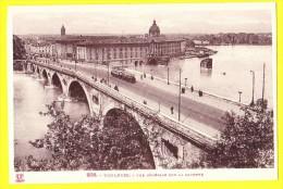 * Toulouse (Dép 31 - Haute Garonne - France) * (LF Toulouse, Nr 208) Vue Générale Sur La Garonne, Tram, Vicinal, Pont - Toulouse