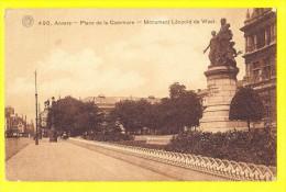 * Antwerpen - Anvers - Antwerp * (G. Hermans, Nr 490) Place De La Commune, Monument Léopold De Wael, Statue, Rare - Antwerpen