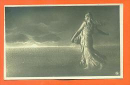 """Carte Fantaisie """"  La Semeuse De Roty  """" - Femmes Célèbres"""