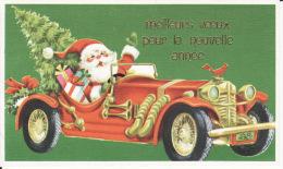 Père Noël Dans Sa Voiture, Torpédo? - Santa Claus