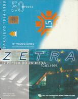 BOSNIA - Zetra(50 Units), Used - Bosnia