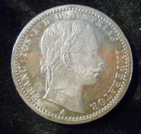 AUTRICHE- FLORIN  1862 A   ARGENT  SUP - Austria