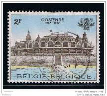 KURSAAL OOSTENDE - COB : 1418 - 1967 O - Belgium