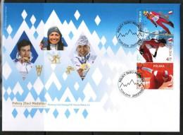 POLAND 2014 - MiNo TBA (Polish Gold Medalists) - FDC - FDC