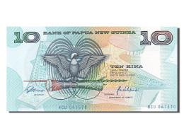 Papouasie-nouvelle-Guinée, 10 Kina, Type 1981-1985 - Papua New Guinea