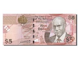 Bahamas, 5 Dollars, Type Wallace Whitefield - Bahamas