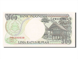 [#255149] Indonésie, 500 Rupiah, Type 1992 - Indonésie