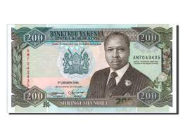 [#154998] Kenya, 200 Shillings Type Arap Moi - Kenya