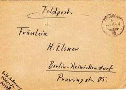 Feldpost WW2: From Lappland: Aufklärungs-Abteilung 776 (Stab) FP 16747B Dated 18.4.1943 - Cover Only  (G48-68) - Militaria
