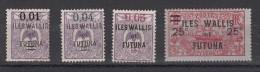 Wallis Et Futuna Timbre De 1920  De Nelle Calédonie Surchargés  4 Valeurs - Wallis-Et-Futuna
