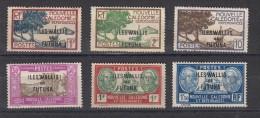 Wallis Et Futuna Timbre De 1928  De Nelle Calédonie Surchargés  6 Valeurs - Wallis-Et-Futuna