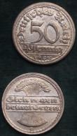 M_p> Germania 3° Reich 50 Pfennig 1922 G In Alluminio - [ 3] 1918-1933 : Repubblica Di Weimar