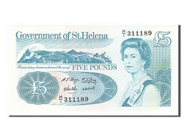 [#155024] Sainte-Hélène, 5 Livres Type Elizabeth II - Saint Helena Island