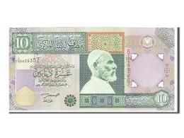Libye, 10 Dinars Type El-Mukhtar - Libye