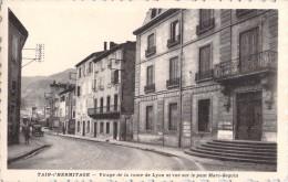 26 TAIN L HERMITAGE VIRAGE DE LA ROUTE DE LYON ET VUE SUR LE PONT MARC SEGUIN - France