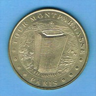 Monnaie De Paris 2000 TOUR MONTPARNASSE 210 Mètres PARIS 75 - Monnaie De Paris