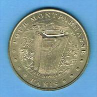 Monnaie De Paris 2000 TOUR MONTPARNASSE 210 Mètres PARIS 75 MDP - 2000
