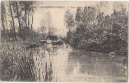 CPA 62 ECQUEMICOURT Vue De La Rivière Canche - France